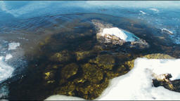 Melt Water Background Footage