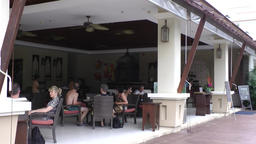 Thailand Pattaya 003 ravindra beach resort restaurant terrace Footage