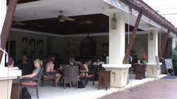 Thailand Pattaya 003 ravindra beach resort restaurant terrace Footage