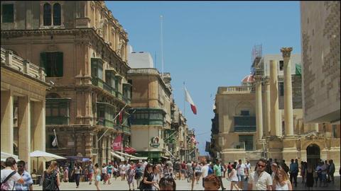 Valletta, Malta The Parliament House Footage