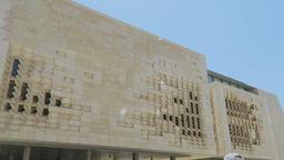 Valletta, Malta The Parliament House Stock Video Footage