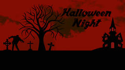 Black&Red Halloween logo Animation