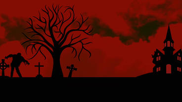 Black&Red Halloween opener&your logo Apple-Motion-Projekt