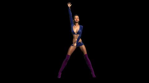 NR620 Dancer Stock Video Footage