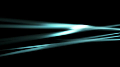 Glowing neon blue smooth rays video animation Animation