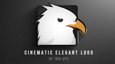 Cinematic Elegant Logo Reveal After Effects Template