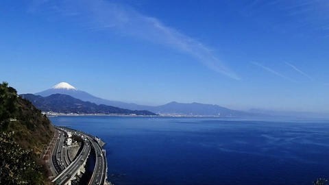 Fuji and the Tomei Expressway, Time lapse Footage