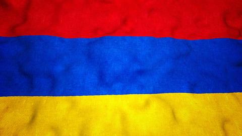 Armenian Flag Seamless Video Loop Animation