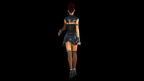 NR24 Catwalk Model Back Animation
