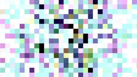 Colored Squares Changing Abstract Motion Background Animation