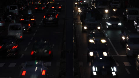 Night view · Overhead view · Car (4 lanes) / zoomin GIF