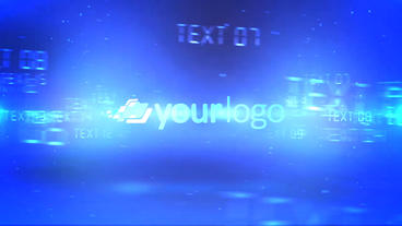 Digital Typography Logo Reveal - After Effects Template After Effects Projekt