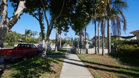 Two videos of walking in San Diego in 4K Footage