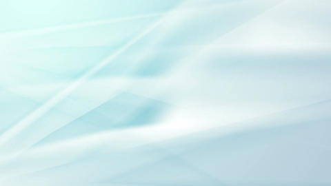 Light blue smooth flowing waves abstract video clip Animation