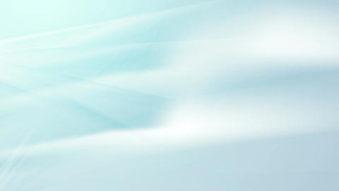Light blue smooth flowing waves abstract video clip Stock Video Footage