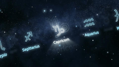 Signs of Zodiac Animation