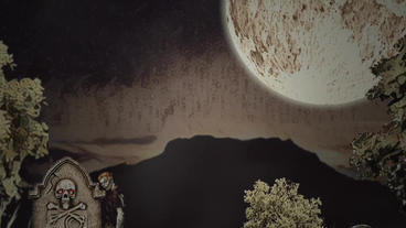 Sand Halloween Plantilla de Apple Motion