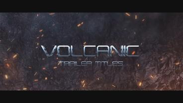 Volcanic Trailer Titles After Effects Project