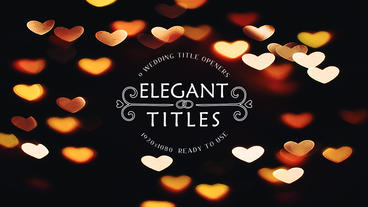 Wedding Titles After Effects Projekt