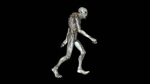 Alien Walk Animation