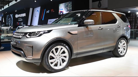 Land Rover Discovery Sport crossover SUV Footage