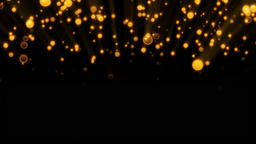 Abstract background with glittering particles. 3D rendered Photo