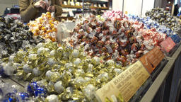 Lindt chocolates counter Footage