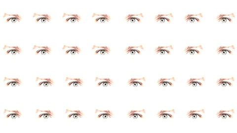 Multiple eyes 04 Animation