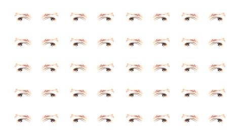 Multiple eyes 02 Animation