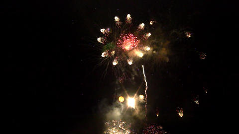 fireworks 14 Stock Video Footage