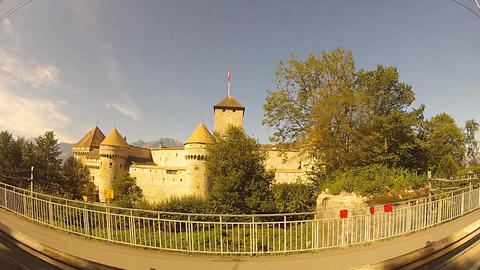 castle Stock Video Footage