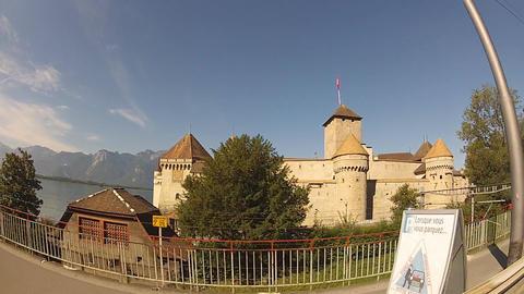 castle Stock Video Footage