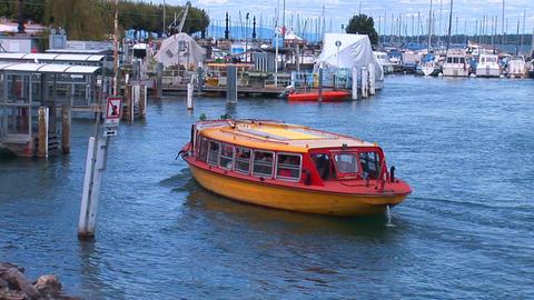 water tram Stock Video Footage