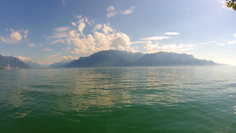 geneva lake 2 Stock Video Footage