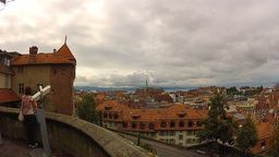 Lausanne 2 Stock Video Footage