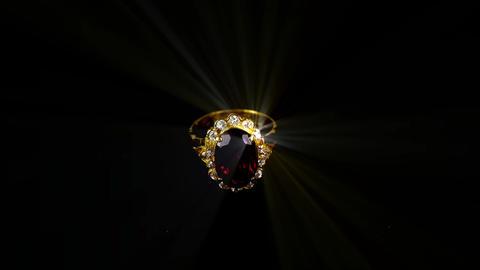 kaleidoscope of gem diamond laser Stock Video Footage