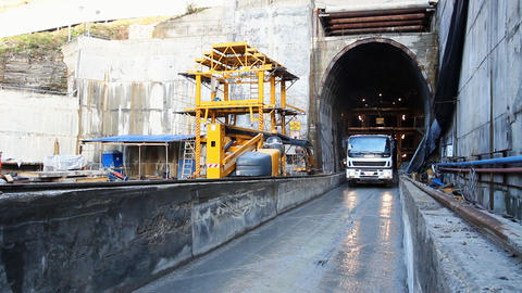 Tunneling Stock Video Footage