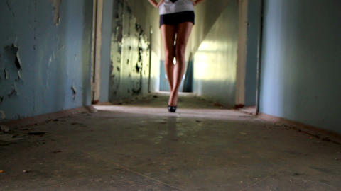 woman's legs Stock Video Footage