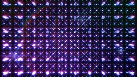 LED Light Space G 5r Af HD Stock Video Footage