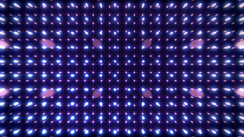 LED Light Space G 5r B 2 HD Stock Video Footage