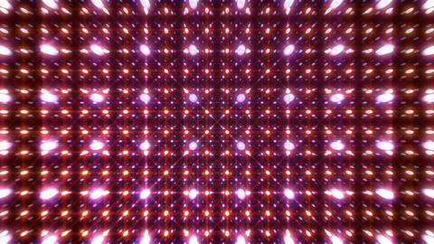 LED Light Space G 5s A 2 HD Stock Video Footage