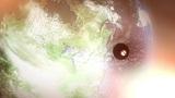 Sputnik Space Satellite Orbits North America Animation