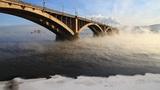 Bridge mist Footage