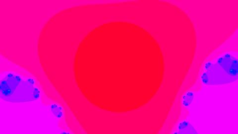 pink fractal loop Stock Video Footage