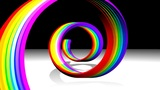 Rainbow Spiral Animation