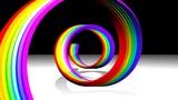 Rainbow Spiral Animation