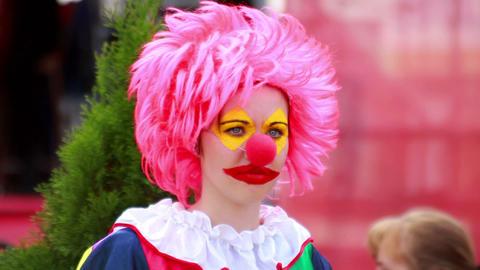Clown 1 Stock Video Footage