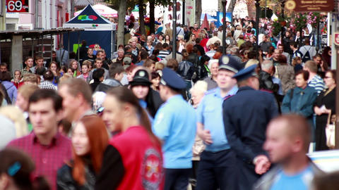 Crowd 2 Stock Video Footage