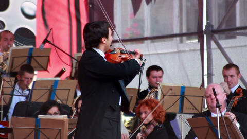 Orchestra 1 Stock Video Footage