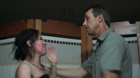 Domestic Violence Between Couples Stock Video Footage